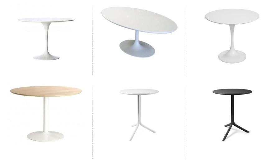 Stół na jednej nodze