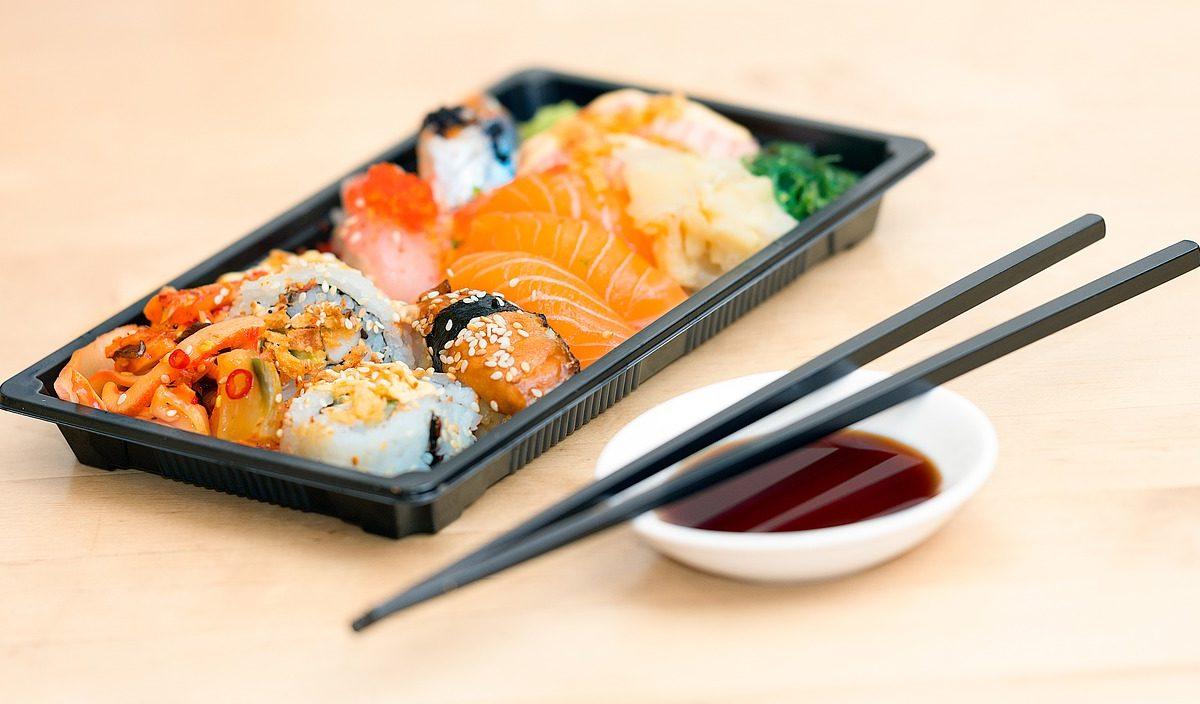 Sushi pomysł na zdrowy posiłek.