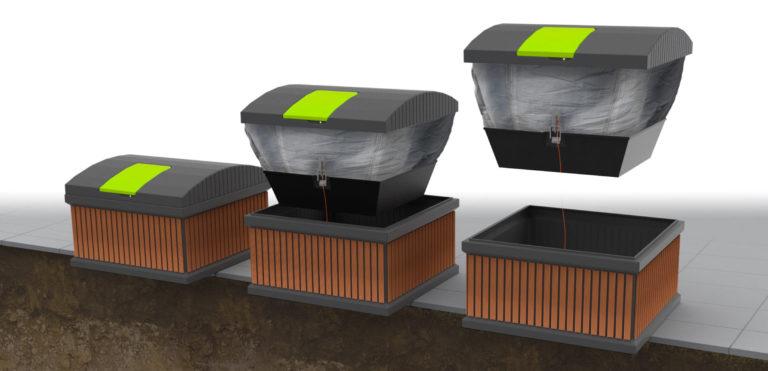 Określ właściwy rozmiar i rodzaj pojemnika na odpady na potrzeby mieszkańców