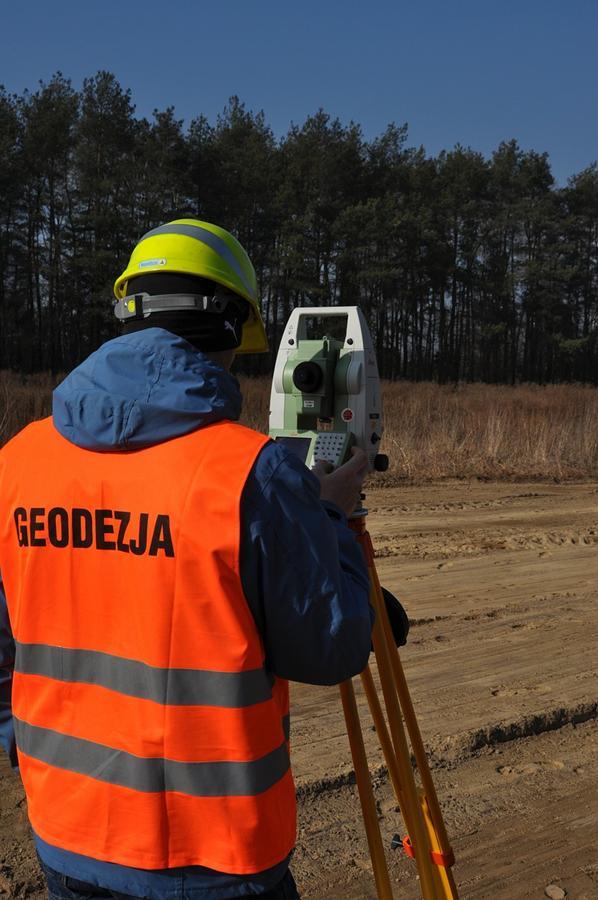 Zakres usług geodety